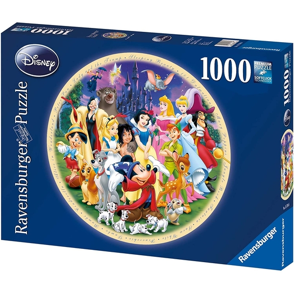 Ravensburger Wonderful World of Disney Jigsaw Puzzle - 1000 Pieces - Image 1