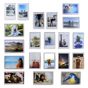 Pack of 20 Mini Photo Frame Magnets | M&W