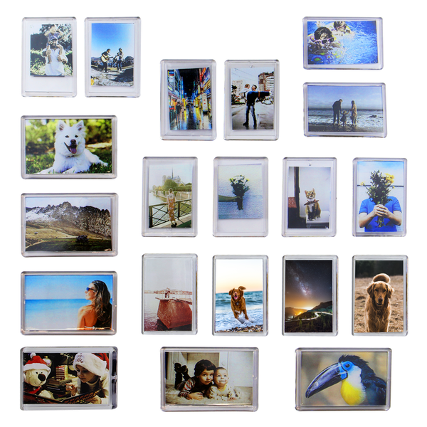Pack of 20 Mini Photo Frame Magnets | Pukkr