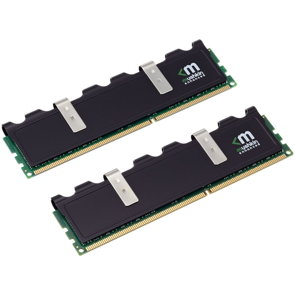 Mushkin Blackline 8GB Kit (2 x 4GB), DDR3L, 1600MHz (PC3L-12800), CL9, Low Voltage, Frostbyte, DIMM Memory