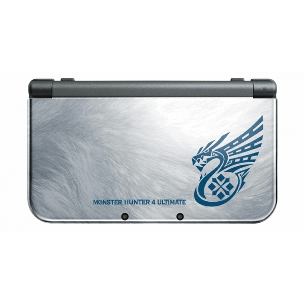New Nintendo 3DS XL Handheld Console Monster Hunter 4 Ultimate Special Edition