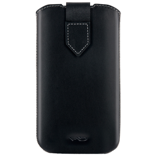 Vicious and Divine Superior Leather Soft Pouch For Samsung Galaxy SIIi/S4 and Others Extra Large Devices