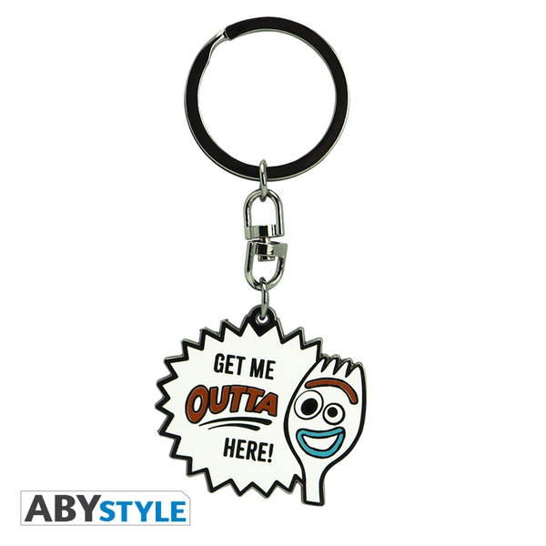 Disney - Toy Story/Forky Metal Keyring