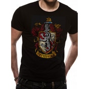 Harry Potter - Gyffindor Crest Men's Medium T-Shirt - Black