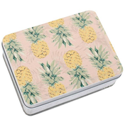 Pineapple Metal Tin Pack Of 12