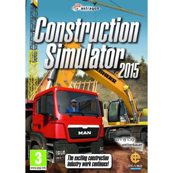 Construction Simulator 2015 PC Game - Image 1