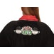 Friends Ladies Central Perk Black/Red No Hood Adult - One Size - Image 3