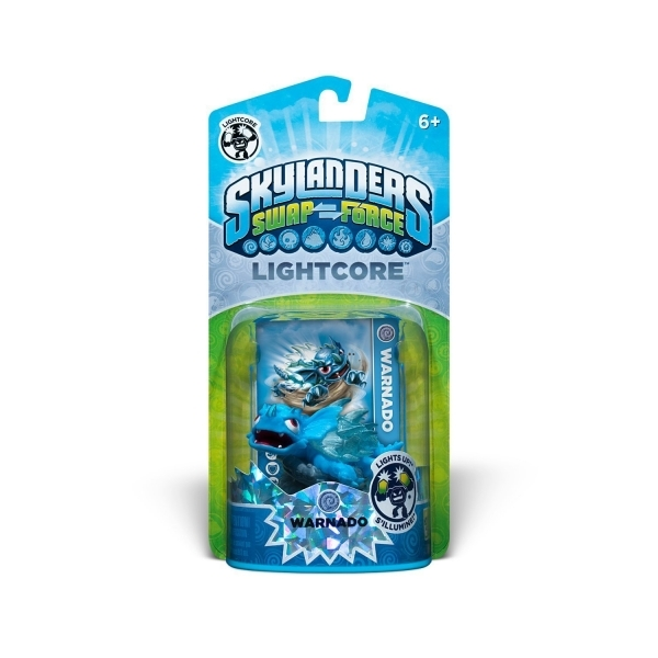 Light Warnado (Skylanders Swap Force) Air Character Figure - Image 3
