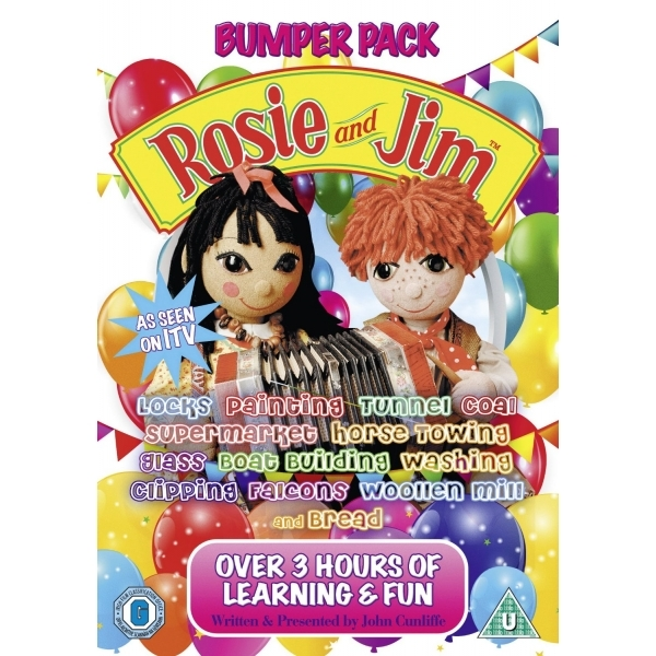 Rosie and Jim - Bumper Pack 1 DVD