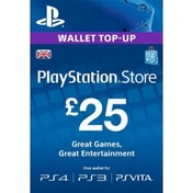 25 Playstation Network Code UK PS3 & PS Vita & PS4 PSN Digital Download