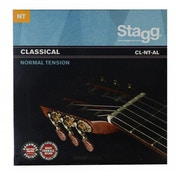 Stagg Nylon/Silver Plated Wound Set of Strings for Classical Guitar