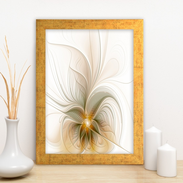 AC766311787 Multicolor Decorative Framed MDF Painting