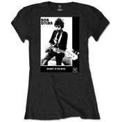Bob Dylan - Blowing in the Wind Women's Large T-Shirt - Black