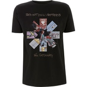 Red Hot Chili Peppers - Getaway Album Asterisk Men's XX-Large T-Shirt - Black
