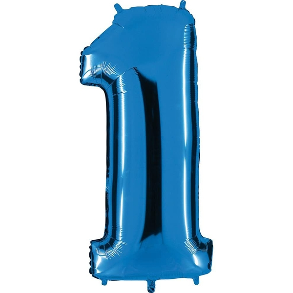 Number 1 Balloon (40 Inches)