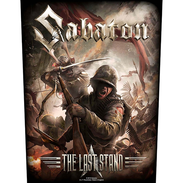 Sabaton - The Last Stand Back Patch
