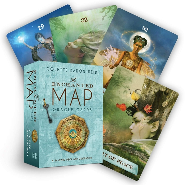 The Enchanted Map Oracle Cards: A 54-Card Deck and Guidebook Cards - 5 Dec. 2011