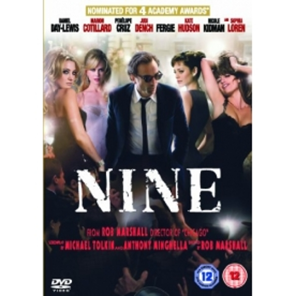 Nine The Musical DVD