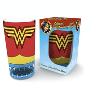 DC Comics Wonder Woman Costume Premium Large Glass