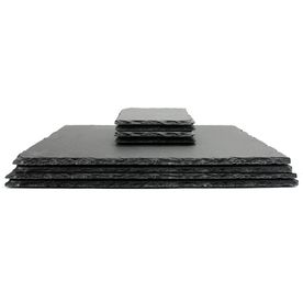 Slate Placemats & Coasters | M&W 8pc