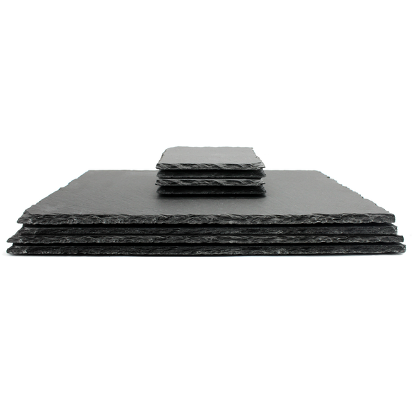 Slate Placemats and Coasters 8pc.