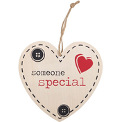 Someone Special Hanging Heart Sign