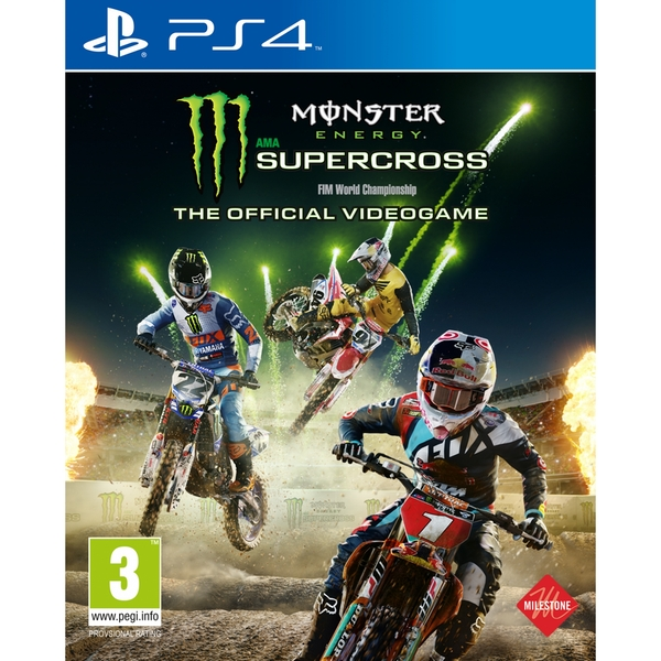 Monster Energy Supercross Videogame PS4