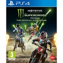 Monster Energy Supercross Videogame PS4 Game