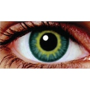 Amazon Green 1 Month Coloured Contact Lenses (MesmerEyez Infusionz)