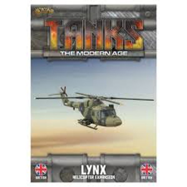 TANKS The Modern Age British Lynx (Helo) Board Game