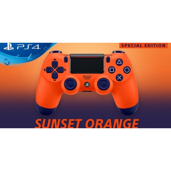 Sony Dualshock 4 V2 Sunset Orange Controller PS4