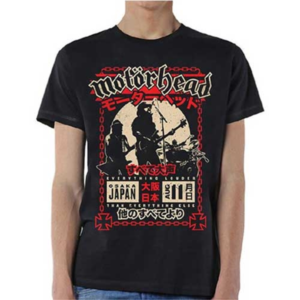 Motorhead - Loud in Osaka Unisex Small T-Shirt - Black