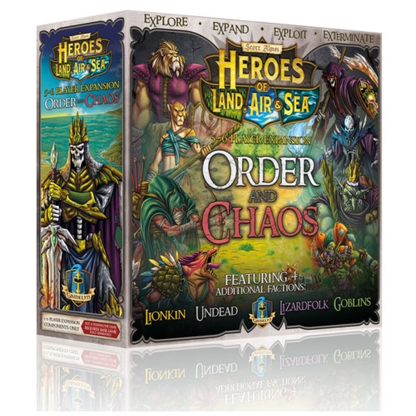 Order and Chaos Heroes of Land, Air & Sea Expansion Board Game