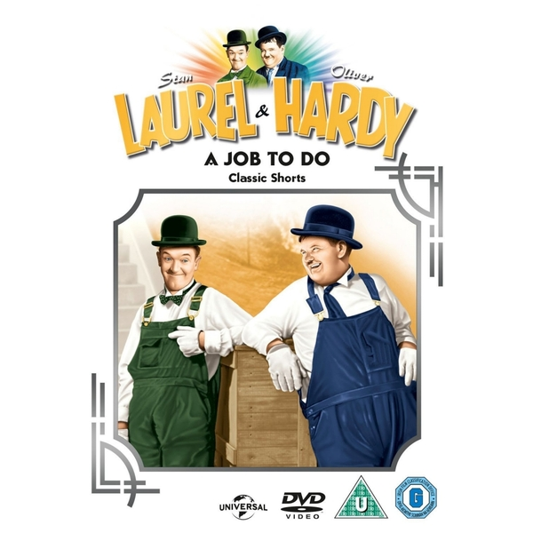 Laurel And Hardy: Volume 14 - Classic Shorts & A Job To Do DVD