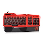 Mad Catz S.T.R.I.K.E. 3 Gaming Keyboard Black/Red UK Layout
