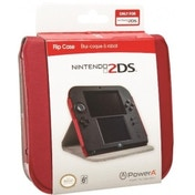 Nintendo Licensed Red Flip Cover Case 2DS