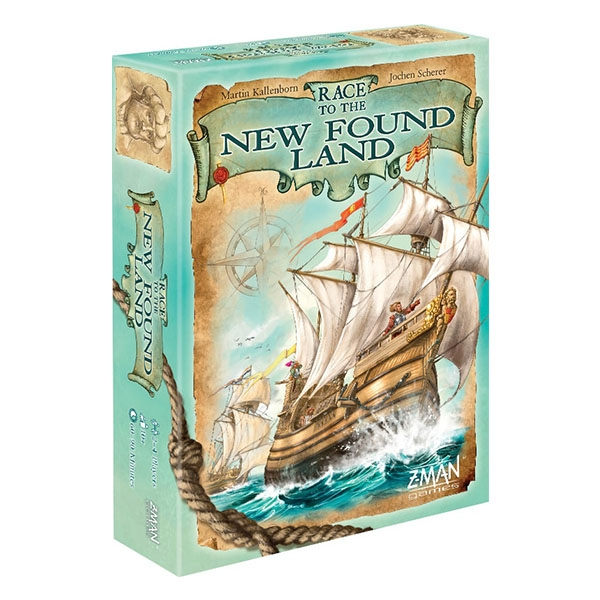 Race to the New Found Land Board Game - Image 1