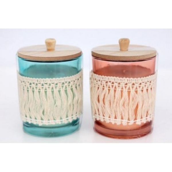 Festival Life Tassel Candle Pots (1 Ranom Supplied)