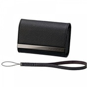 Sony Cyber Shot Black Leather Case