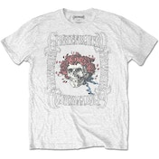 Grateful Dead - Bertha with Logo Box Men's Large T-Shirt - White