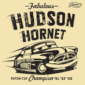Cars 3 - Legend Of The Track - Hudson Hornet Canvas