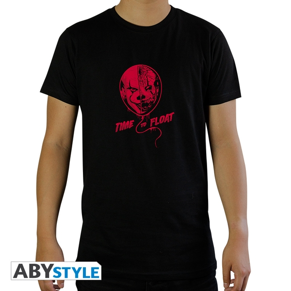 It - Time To Float Men'S Small T-Shirt - Black