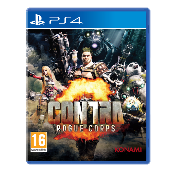 Contra Rouge Corps Day One Edition PS4 Game