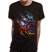 Valerian - Neon Poster Men's XX-Large T-Shirt - Black