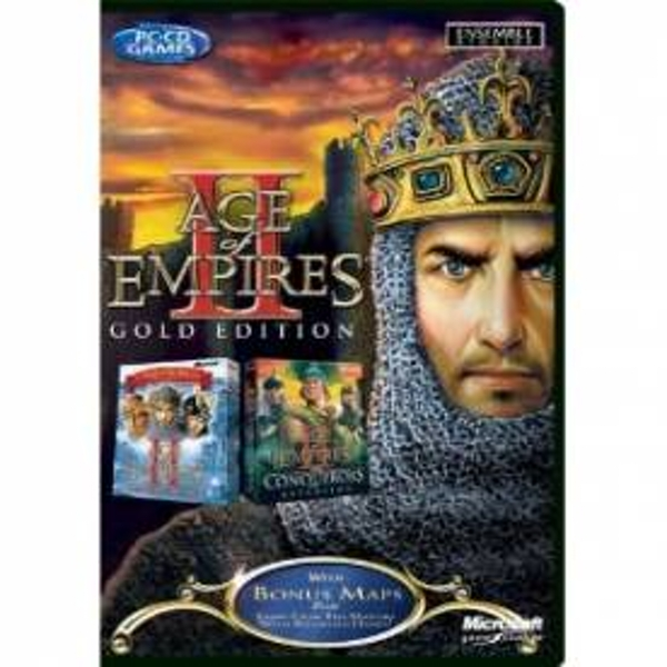 Age of Empires II 2 Gold Edition Game PC
