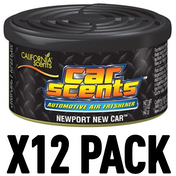 Newport New Car (Pack Of 12) California Car Scents