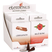 12 Packs of Elements Incense Cones Miixed Fragrances