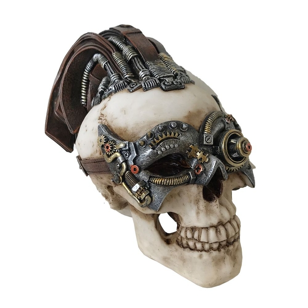 Dreadlock Device (Small) Skull