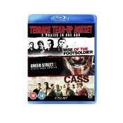 Terrace Tear-Up Box Set Green Street 2/Cass/Rise of the Footsoldier Blu-ray
