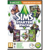 The Sims 3 Starter Bundle (Includes Sims 3 + Late Night + Design & High Tech Stuff) Game PC & Mac